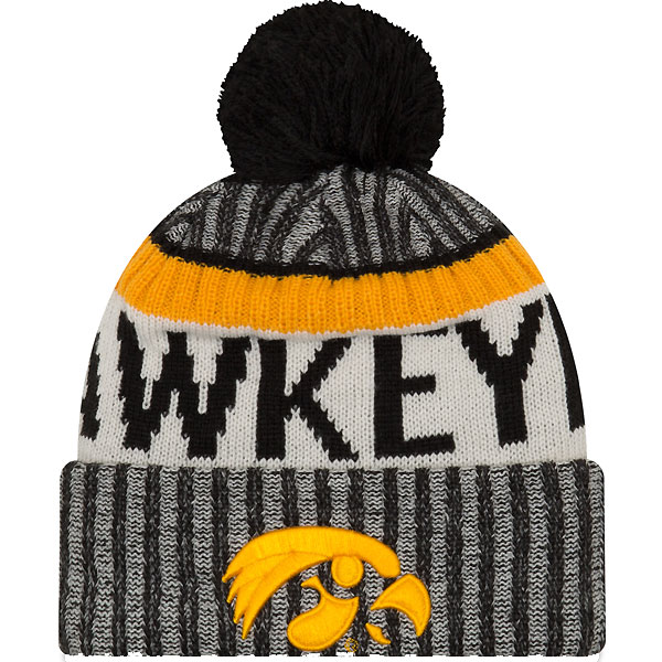 Iowa Hawkeyes Sports Knit Stocking Cap