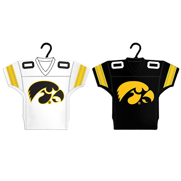 Iowa Hawkeyes Jersey Ornament