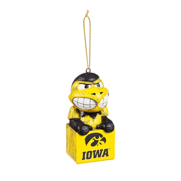 Iowa Hawkeyes Mascot Ornament