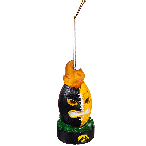 Iowa Hawkeyes Totem Ornament