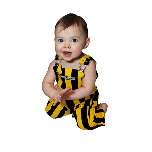 Iowa Hawkeyes Infant Gameday Bib Overalls