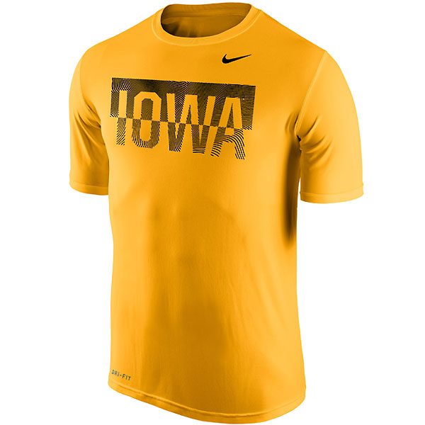 Iowa Hawkeyes Split School Name Drop Tee