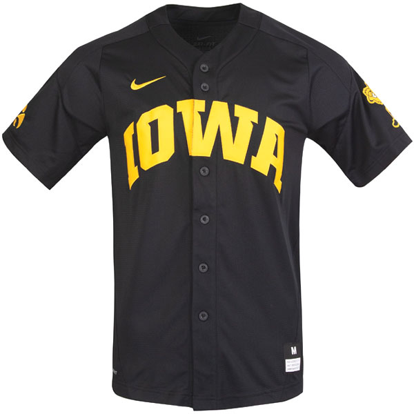 Iowa Hawkeyes Baseball Replica Jersey