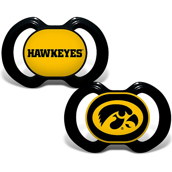 Iowa Hawkeyes Pacifier