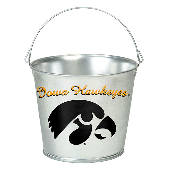 Iowa Hawkeyes 5 Quart Pail