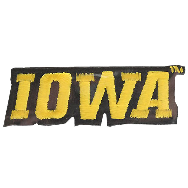 "Iowa Hawkeyes Collector 2.5"" Patch"
