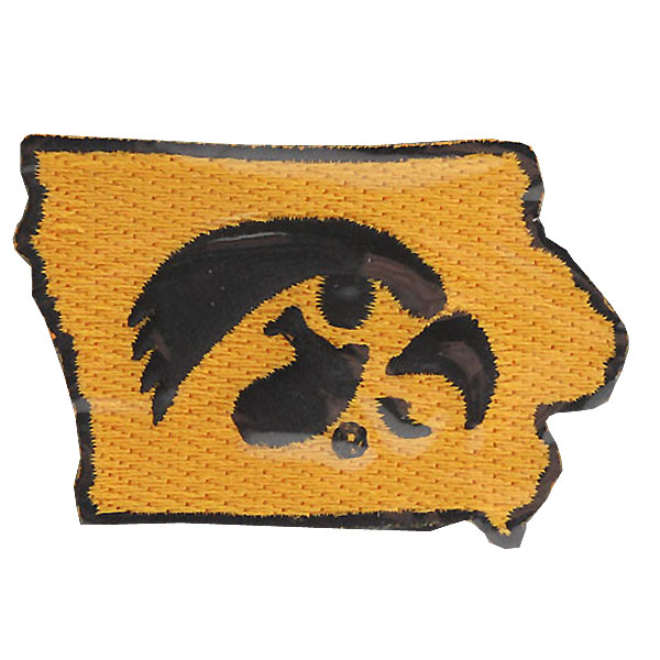 Iowa Hawkeyes Collector State Patch