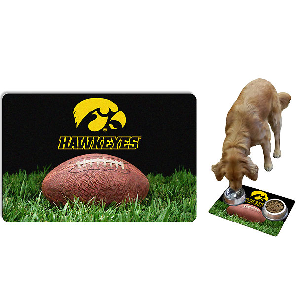 Iowa Hawkeyes Pet Mat