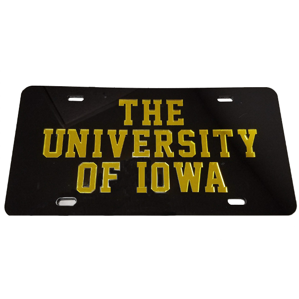 Iowa Hawkeyes Whole Name Plate