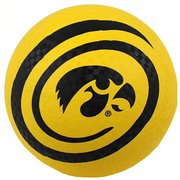 Iowa Hawkeyes Playground Ball