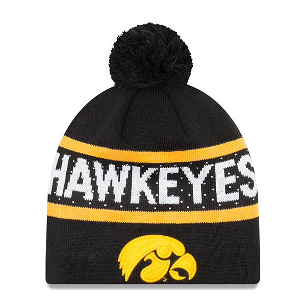 Iowa Hawkeyes Pretty Knit Stocking Cap