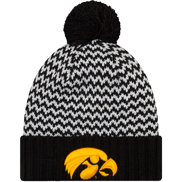 Iowa Hawkeyes Women's Patterned Stocking Cap