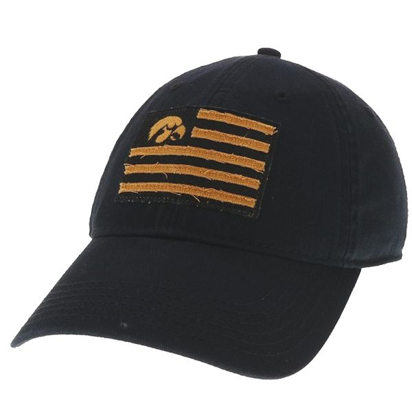 Iowa Hawkeyes Relaxed Flag Hat