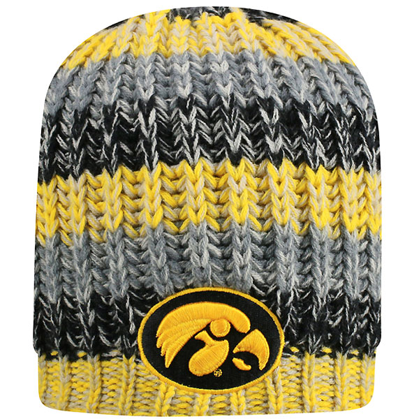 Iowa Hawkeyes Realm Stocking Cap