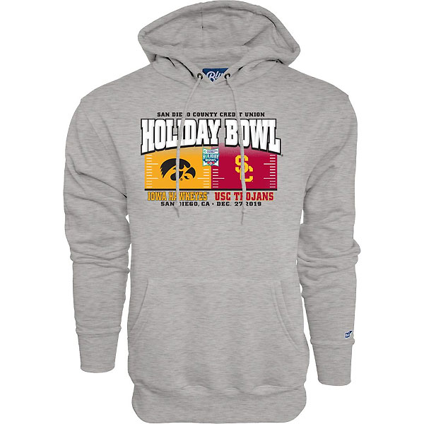 Iowa Hawkeyes Holiday Bowl Pound Sand Hoodie