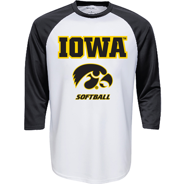 Iowa Hawkeyes Softball Jersey Tee