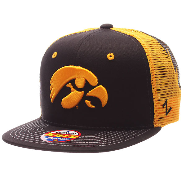 Iowa Hawkeyes Youth Trucker Mesh Back Cap