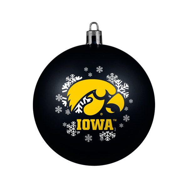 Iowa Hawkeyes Shatterproof Ornament