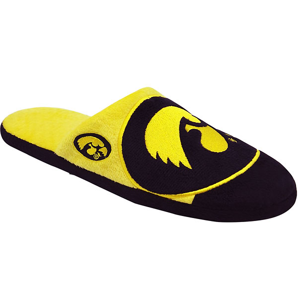 Iowa Hawkeyes Color Block Slippers