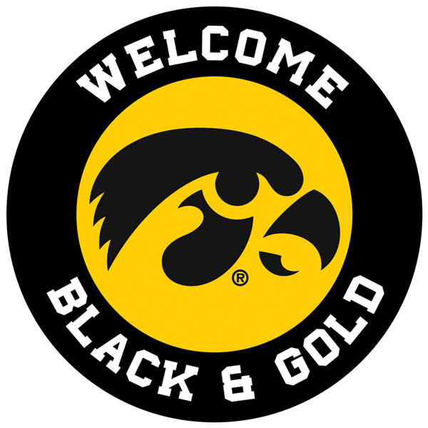 Iowa Hawkeyes Custom Personized Sign