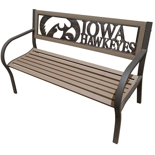 Iowa Hawkeyes 2-Tone Bench