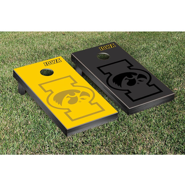 Iowa Hawkeyes Cornhole Game Set Watermark Version