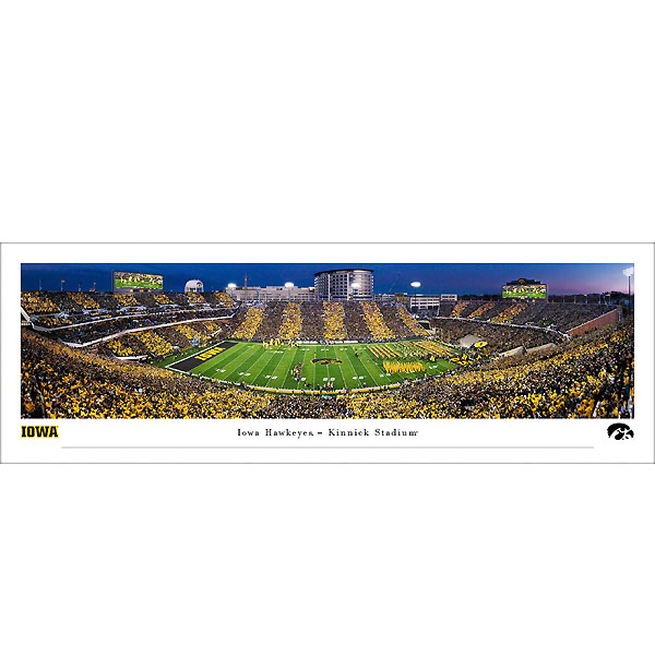 Iowa Hawkeyes 2019 Panoramic Picture - Kinnick Stadium Swarm the Field - Shrink Wrap