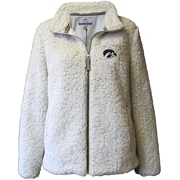 Iowa Hawkeyes Women's Sherpa Full Zip Jacket