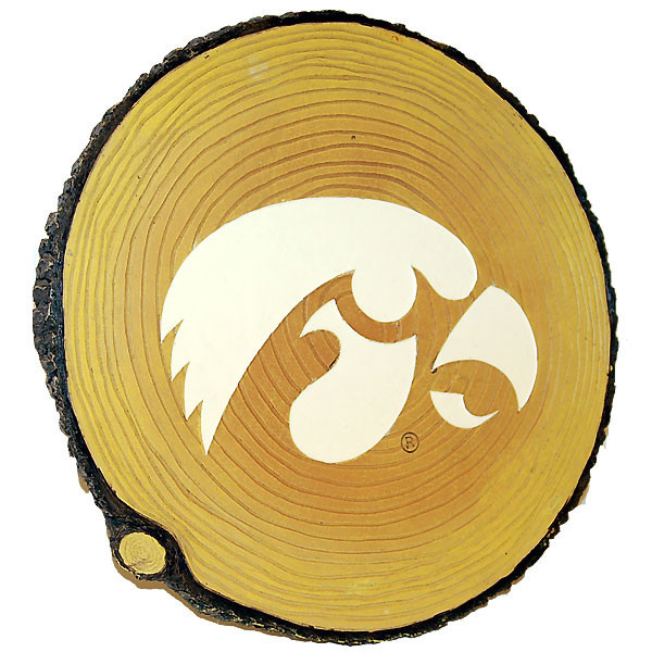 Iowa Hawkeyes Glow Stump