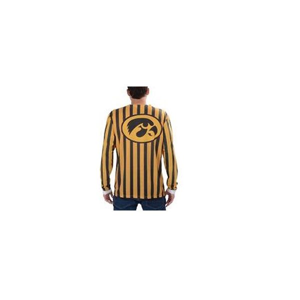 Iowa Hawkeyes Striped Suit Tee