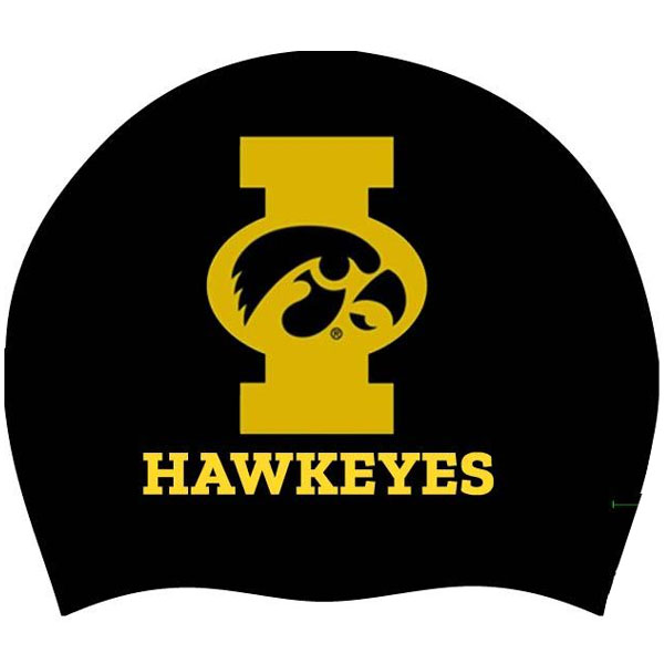 Iowa Hawkeyes Swim Cap