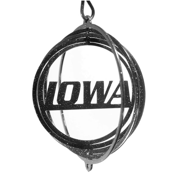 "Iowa Hawkeyes 4"" Swirly"