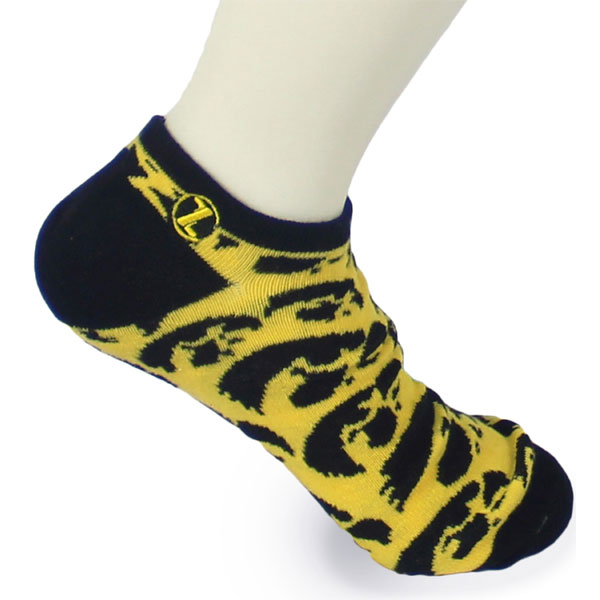 Iowa Hawkeyes Stacked Mascot Sock