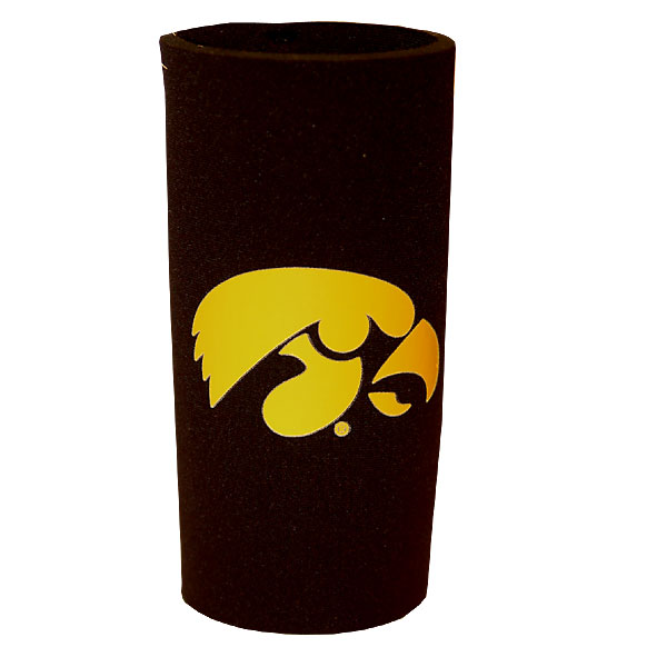 Iowa Hawkeyes Tall Boy Koozie