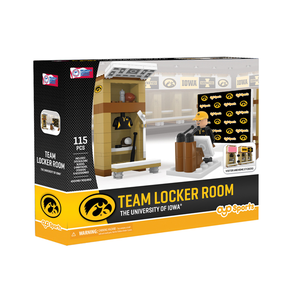 Iowa Hawkeyes Team Locker Set