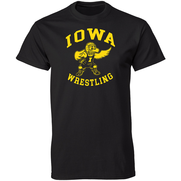 Iowa Hawkeyes Wrestling Grappler Tee