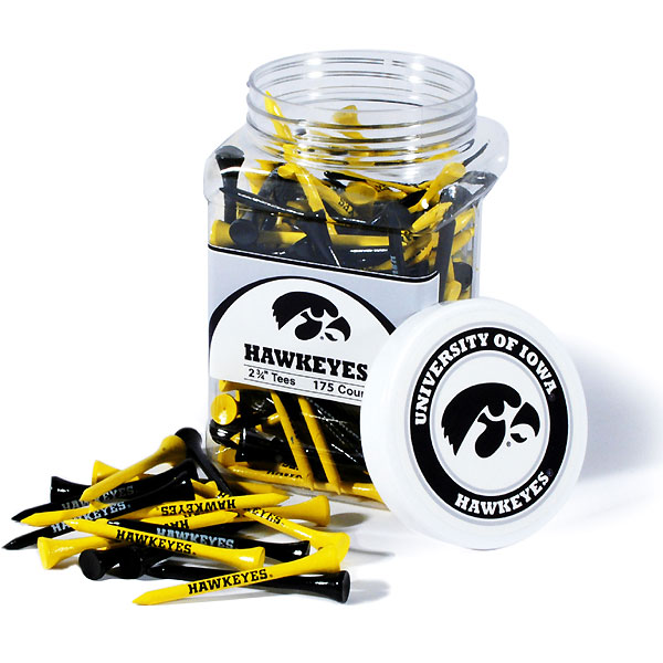 Iowa Hawkeyes 175 Imprented Tee Jar