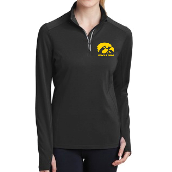 Iowa Hawkeyes Track and Field Women's 1/4 Zip
