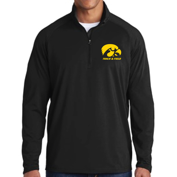 Iowa Hawkeyes Track and Field 1/4 Zip