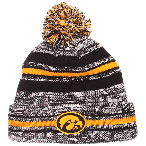 Iowa Hawkeyes Titanium Stocking Cap