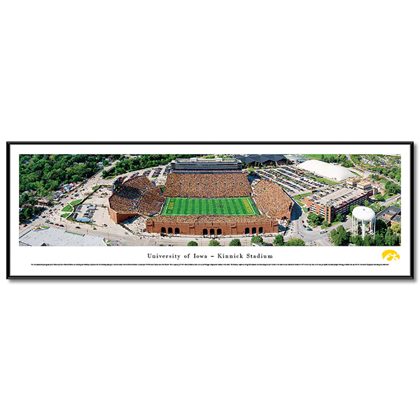 Iowa Hawkeyes Panoramic Picture - Kinnick Stadium - Standard Frame