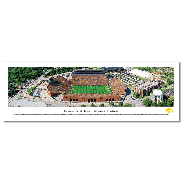 Iowa Hawkeyes Panoramic Picture - Kinnick Stadium - Shrink Wrap