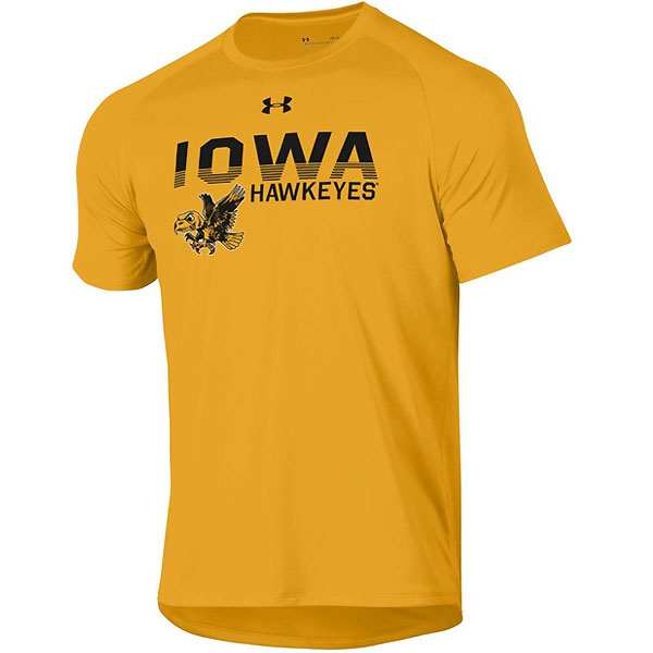 Iowa Hawkeyes Tech Tee - Short Sleeve