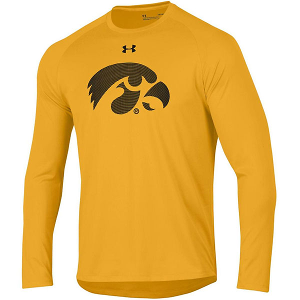 Iowa Hawkeyes Tech Tee - Long Sleeve