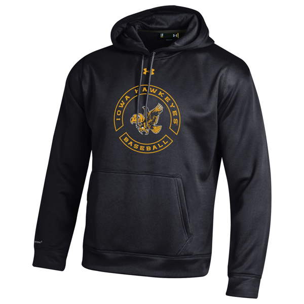 Iowa Hawkeyes Flying Herky Baseball Hoodie