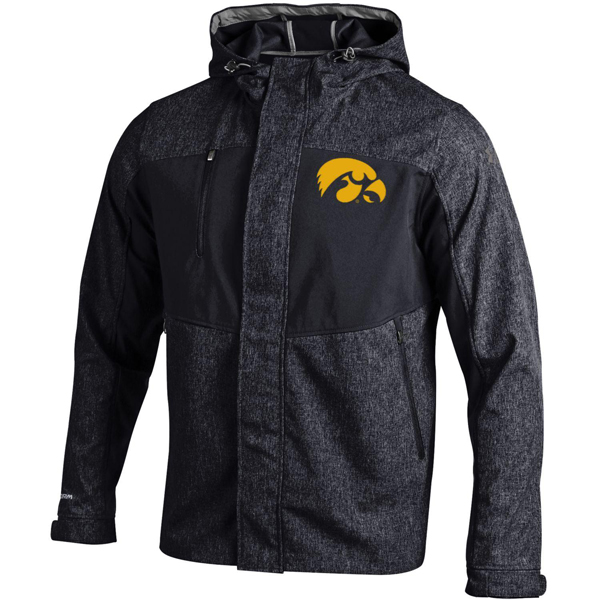Iowa Hawkeyes Mix Hooded Softshell