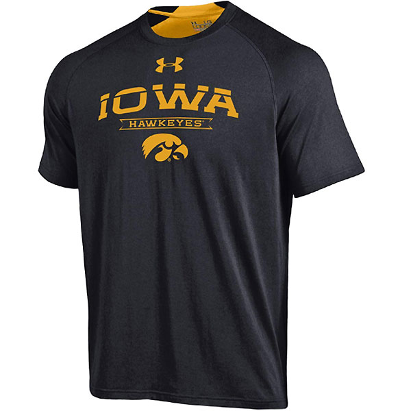 Iowa Hawkeyes Charged Cotton Tee