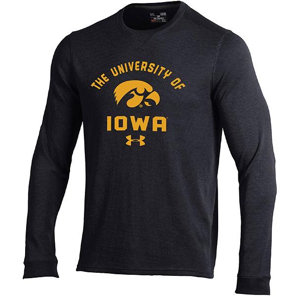 d59d4a1160e Iowa Hawkeyes Waffle Crew Tee