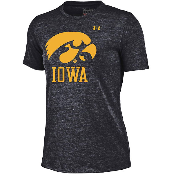 Iowa Hawkeyes Women's Triblend Tee