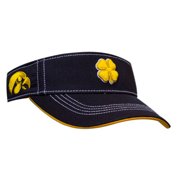 Iowa Hawkeyes Adjustable Clover Visor